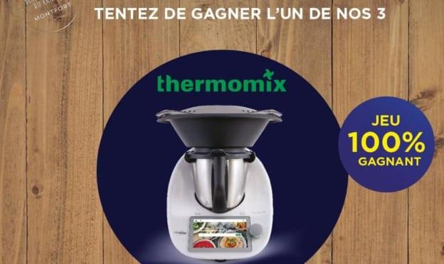Jeu Maison Montfort : Thermomix à gagner