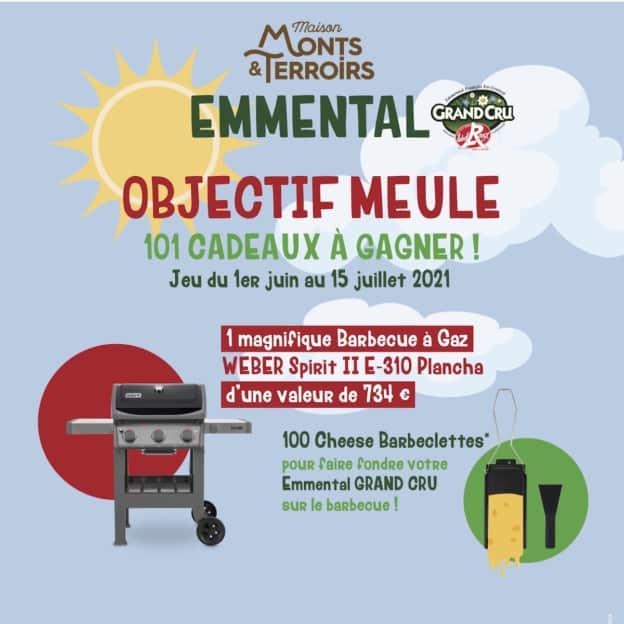 Jeu Monts&Terroirs : BBQ Weber et Cheese Barbeclettes