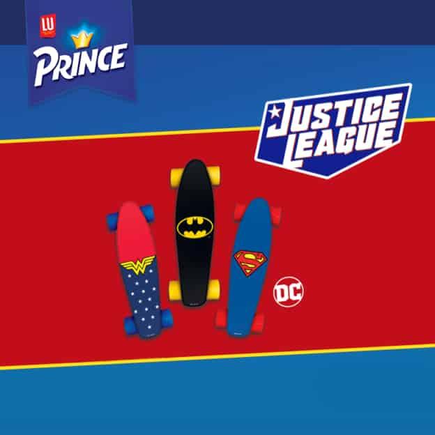 Jeu Prince de LU : Skateboards Justice League à gagner