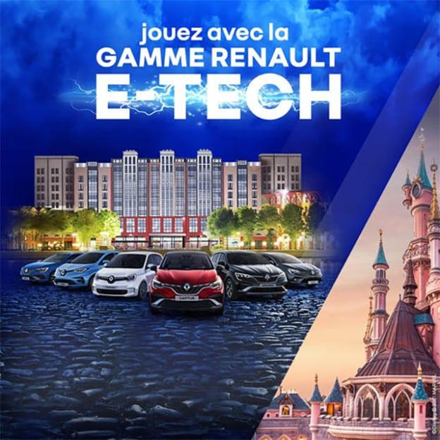 Jeu Renault Marvel : Séjours à Disneyland à gagner