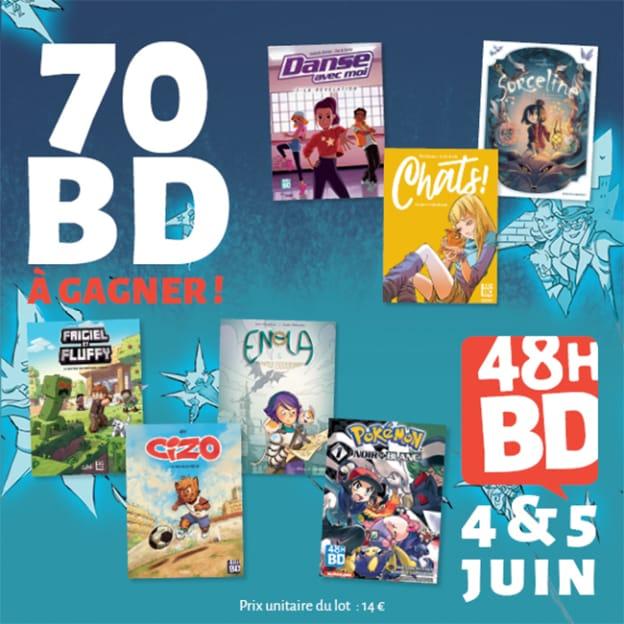 Jeu 48H BD / Journal de Mickey : 70 bandes dessinées à gagner