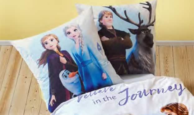 Lidl : Parure de lit La Reine des Neiges pas chère