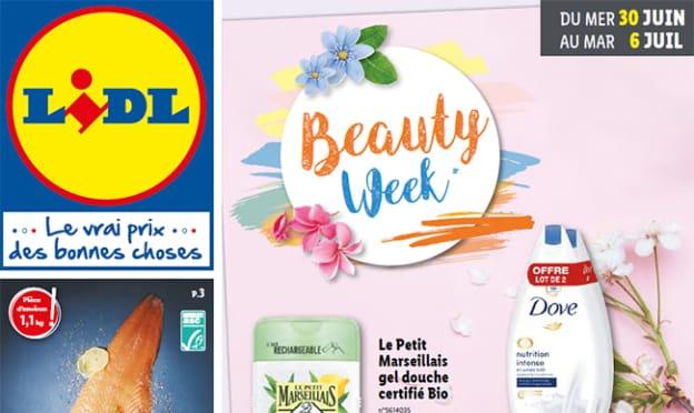 Catalogue Lidl «Beauty Week» du 30 juin au 6 juillet 2021