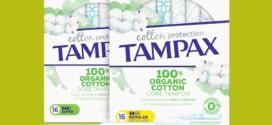 Test Tampax : packs de tampons Cotton Protection gratuits