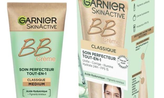 Test gratuit de la BB Crème Garnier Skinactiv avec Aufeminin