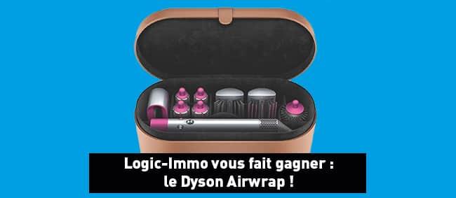 Tentez de remporter le Dyson Airwrap avec Logic Immo