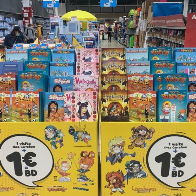 Promo Carrefour : Bandes dessinées Bamboo Edition