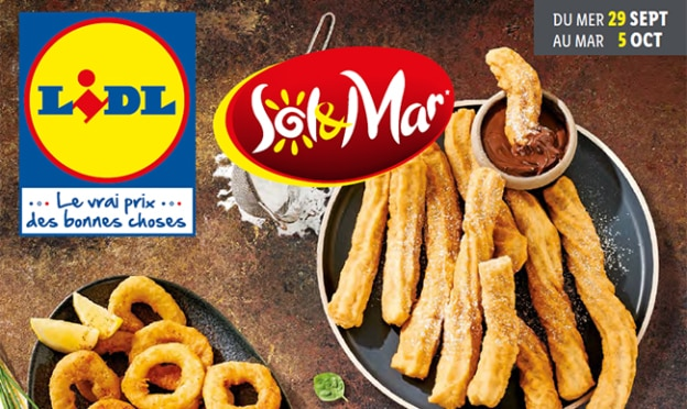 Catalogue Lidl «Sol & Mar» du 29 septembre au 5 octobre 2021