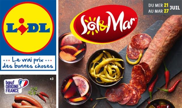 Catalogue Lidl «Sol & Mar» du 21 au 27 juillet 2021