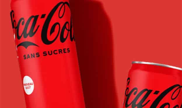 coca-cola sans sucres offert : test gratuit