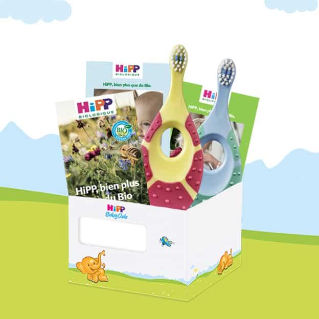 Coffret bébé HiPP Bio gratuit