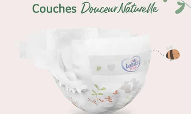 Echantillons Lotus Baby : Couches Douceur Naturelle