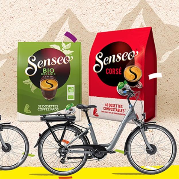 Jeu Senseo Tour de France : vélos et café à gagner