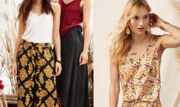 Lidl : Collection de vêtements Bohème Chic à petit prix