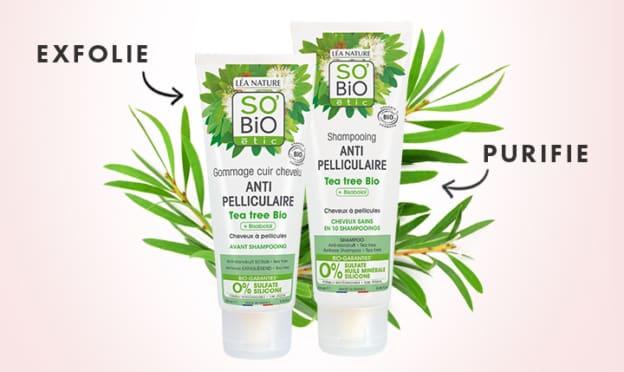 Test SO'BiO étic : duos capillaires au Tea Tree Bio gratuits