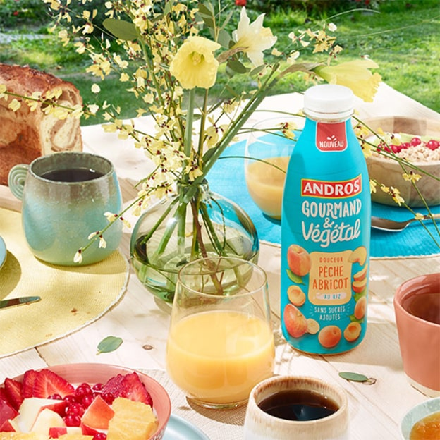 Test Andros Gourmand & Végétal : 2'000 boissons gratuites