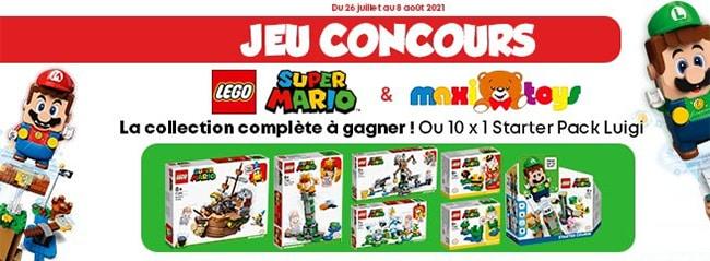 Tentez de remporter la collection LEGO Super Mario