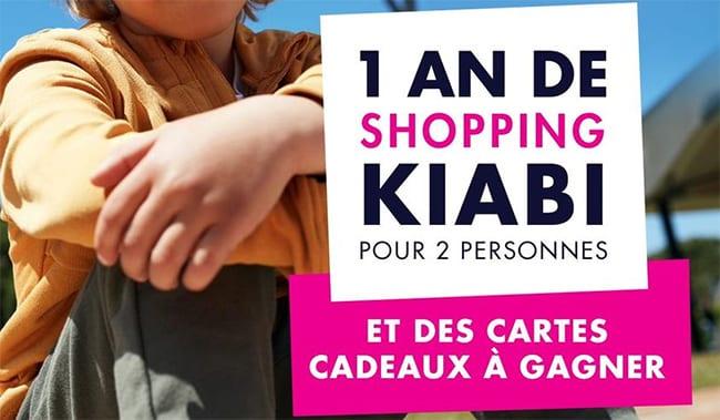 Remportez une carte cadeau Kiabi