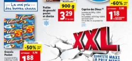Catalogue Lidl «XXL» du 27 octobre au 2 novembre 2021