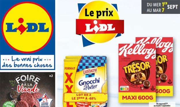 Catalogue Le Prix Lidl Septembre 2021