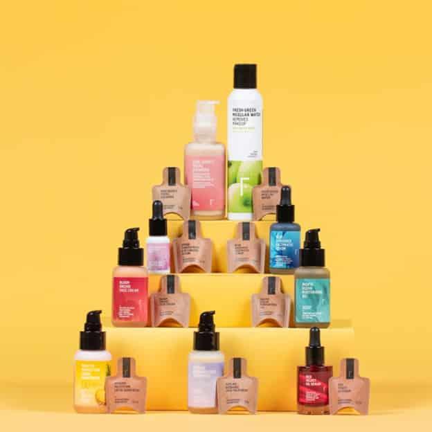 échantillons gratuits Freshly Cosmetics