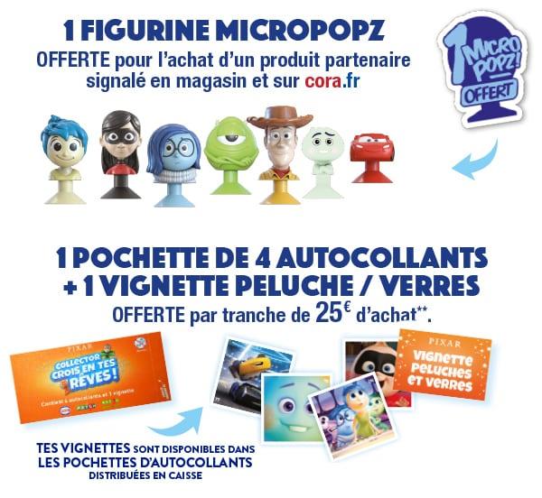 Découvrez les pochettes Disney Pixar Cora