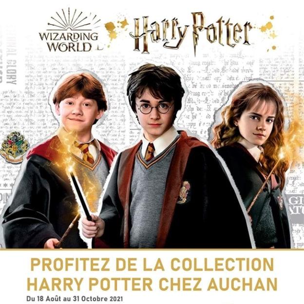 Auchan Harry Potter : Cartes + vignettes offertes et objets collector