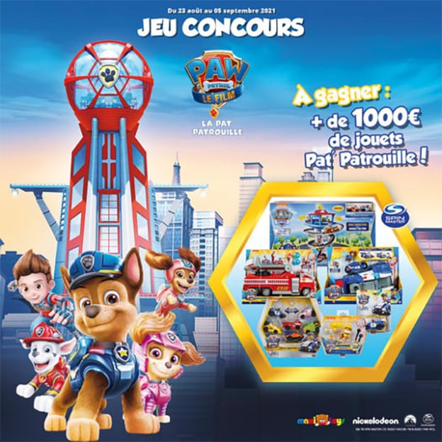 Jeu Maxi Toys : jouets Pat' Patrouille à gagner