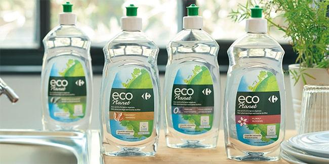 Testez gratuitement le liquide vaisselle Carrefour Eco Planet