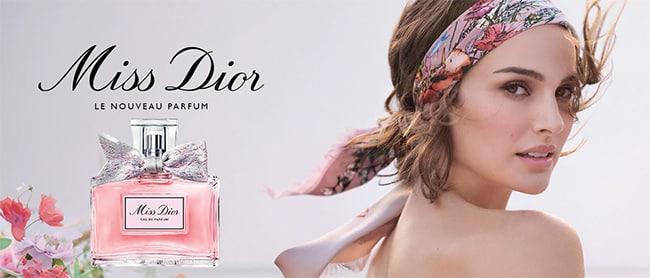 Recevez gratuitement un échantillon de Miss Dior Eau de parfum