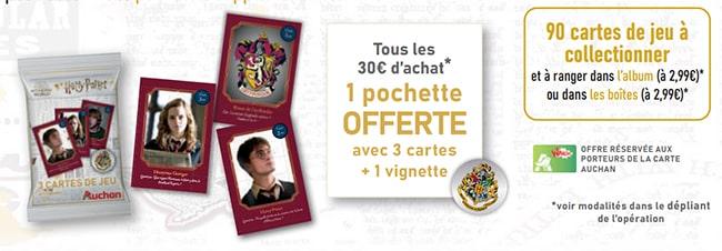 Opération collector Harry Potter Auchan