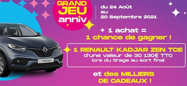 participer sur www.conforama.fr/grandjeuanniv ?