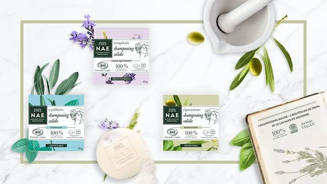 Testez gratuitement les shampooings solides bio de N.A.E.
