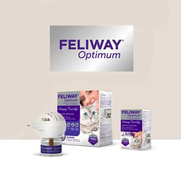 Test Feliway Optimum : diffuseurs olfactifs pour chat gratuits