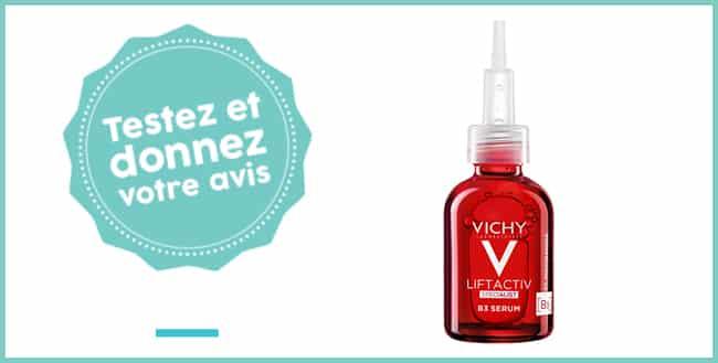 Tentez de tester gratuitement le LIFTACTIV B3 Sérum de Vichy avec Aufeminin