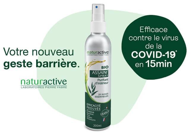 Testez gratuitement Assaini'Spray Huiles essentielles BIO Naturactive avec TRND