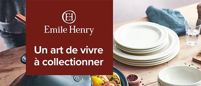 Emile Henry Carrefour : Un art de vivre à collectionner à moindres frais