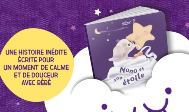 Blédina : Livre pour le soir offert avec Blédîner achetés