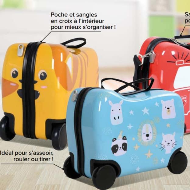 Bon plan Carrefour : Valises cabine enfant pas chères