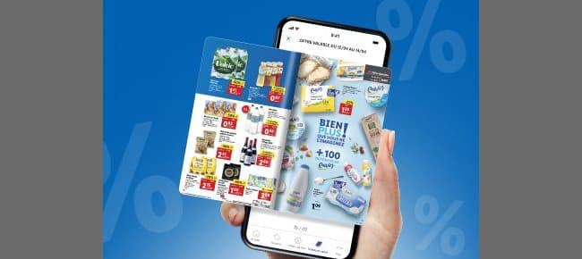Catalogue en ligne sur Lidl Plus