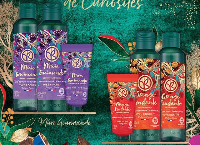 Packs de Noël Yves Rocher à tester gratuitement