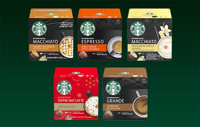 dosettes de café Starbucks by Nescafé Dolce Gusto avec Sampleo