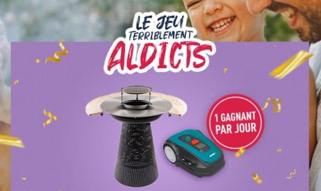 Jeu concours Aldi.fr : tondeuses robot, vélos électriques et cadeaux