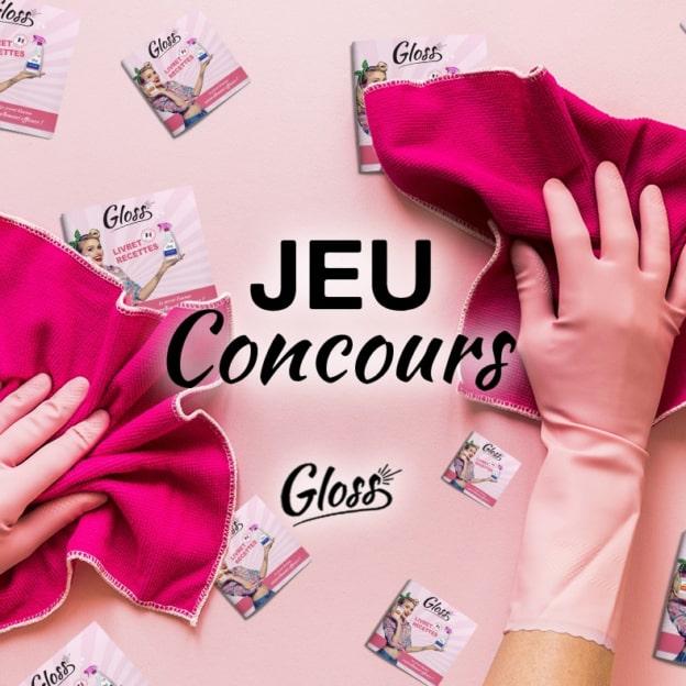 Jeu Marie France : kits de ménages Gloss à gagner
