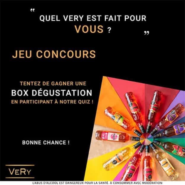 Jeu VeRy Frais : Boxes dégustation surprises à gagner