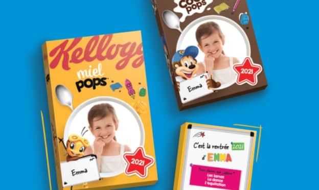 Kellogg's : paquets achetés = étui personnalisé offert