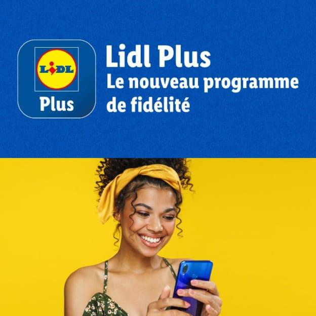 Appli Lidl Plus : Carte de fidélité, bons de réduction, jeux, tickets…