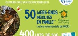 Magasins U Jeu Nestlé : 50 week-ends et 400 lots de 50€
