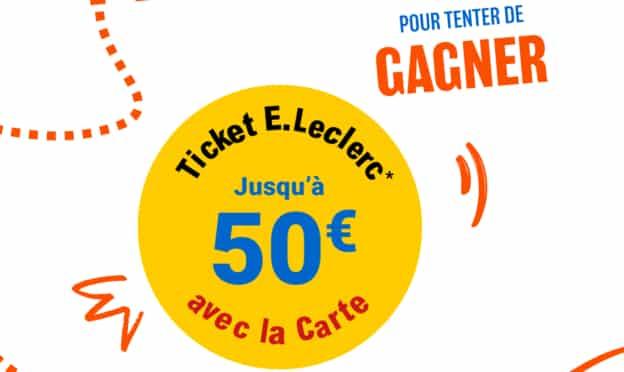 Parcours gagnants Leclerc : des euros cagnottés avec la carte