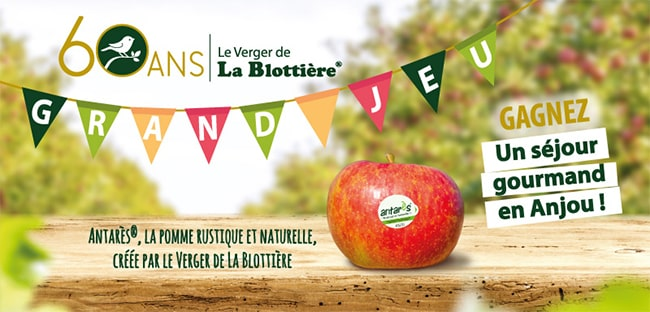Gagnez un séjour gourmand en Anjou, un tablier ou un sac en tissu avec Antarès